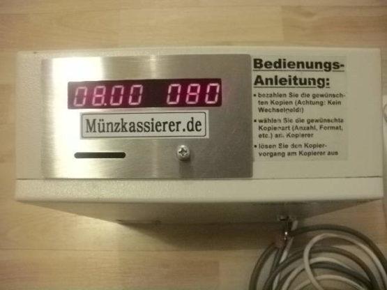 Münzkassierer Copytron CTM 120 Münzkopierer Kopierer Münzkassierer.de