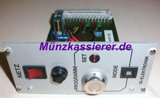 Münzkassierer.de Münzautomaten.com SI Steuerung SI Elektronik Netz-Einschub Netzeinschub Platine