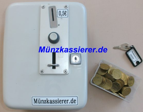 Münzkassierer.de Münzkassierer Münzautomat DUSCHE 24V 50Cent