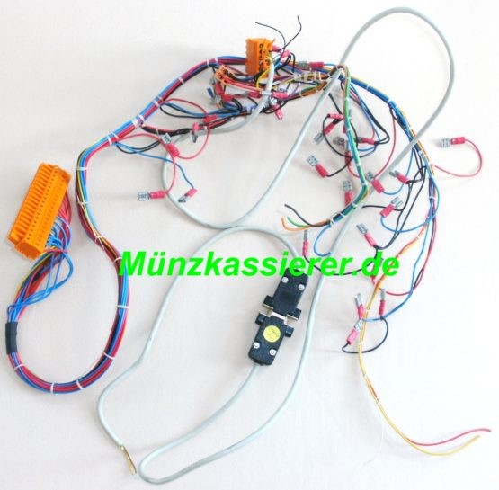 Münzkassierer.de Münzautomaten.com SI Steuerung SI Elektronik KABEL KABELBAUM STECKER
