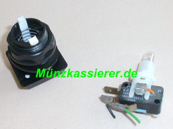 Münzkassierer.de Münzautomaten.com SI Steuerung SI Elektronik Schalter Abbrechen Druckschalter Rot