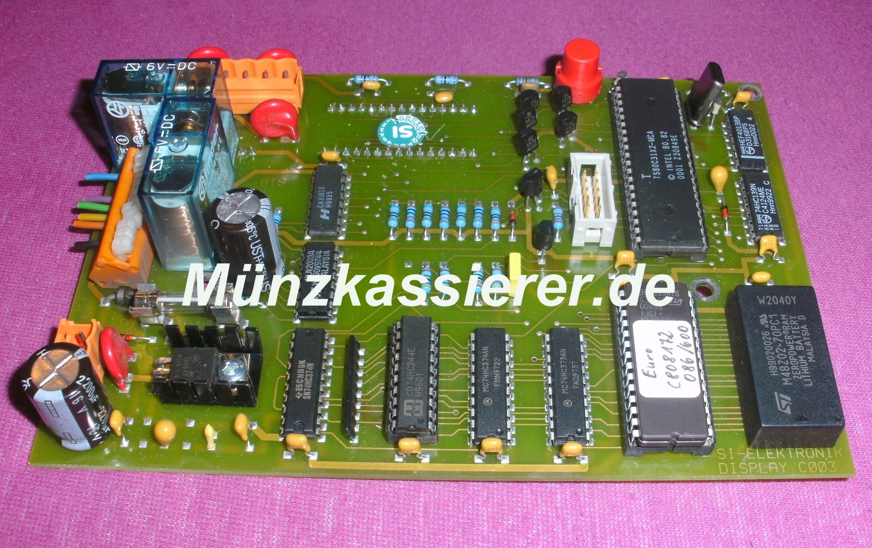 Münzkassierer.de Münzautomaten.com SI Steuerung SI Elektronik Steuerplatine Hauptplatine Platine