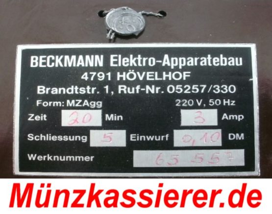 Münzkassierer.de Münzkassierer Münzautomat f. TV Fernseher 5