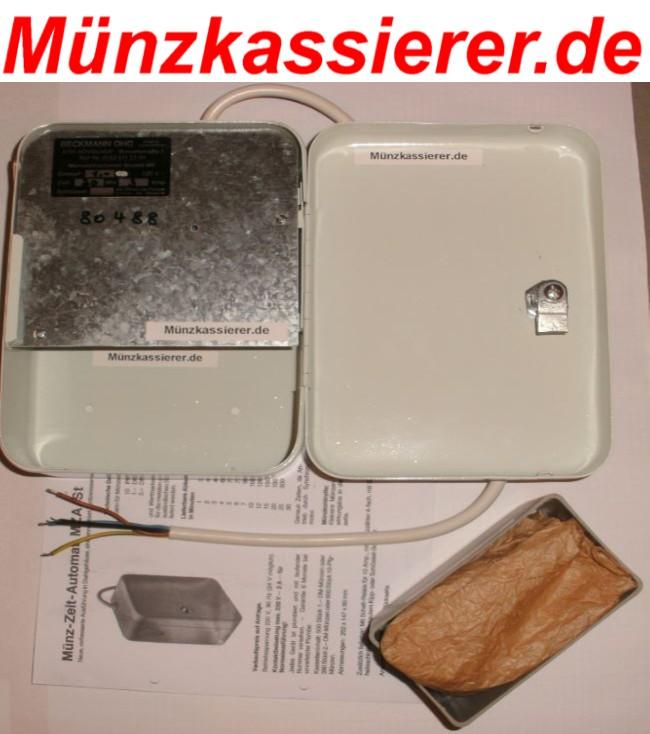 Münzkassierer.de Münzkassierer Münzgerät f. KFZ Hebebühne SAUNA 1€ Einwurf 2