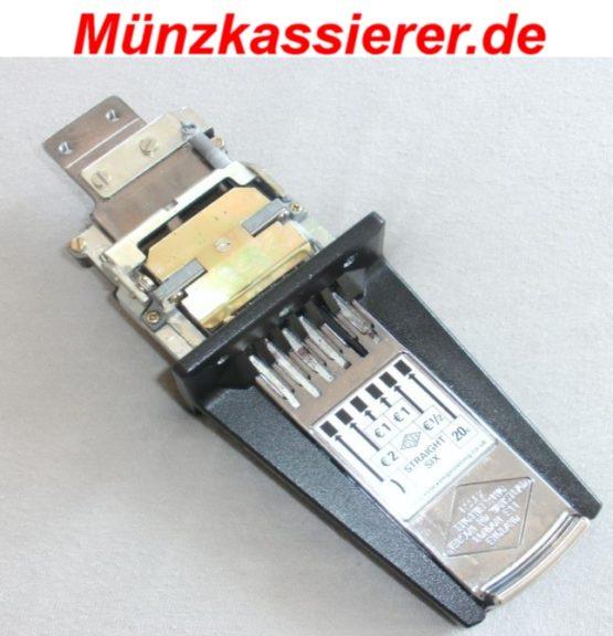Münzeinwurf für Tischkicker Münzkassierer.de Münzschlitten (2)