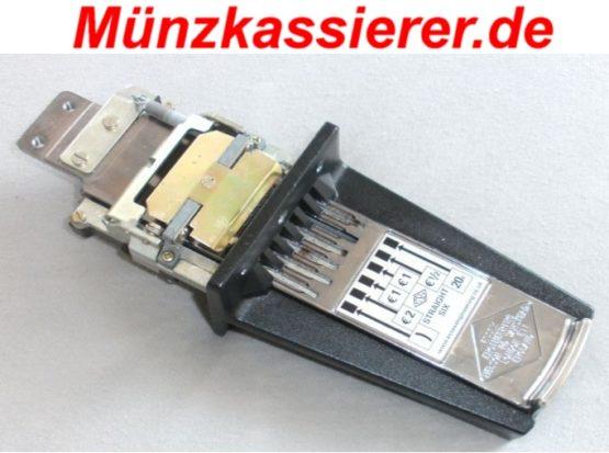 Münzeinwurf für Tischkicker Münzkassierer.de Münzschlitten (4)