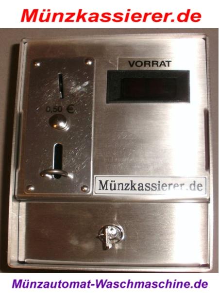 Münzkassierer für Waschmaschine Wäschetrockner Münzkassierer.de NEU (6)
