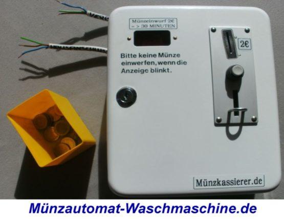 Münzautomat für Wäschetrockner 2Euro (2)