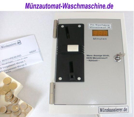 Münzautomat gebraucht Münzautomat-Waschmaschine.de MKS (1)