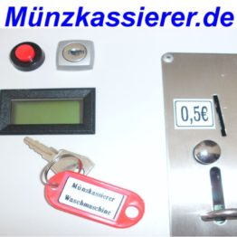 Münzkassierer Waschmaschine NZR Wash'n Dry m. Türentriegelung Münzkassierer.de . (5)