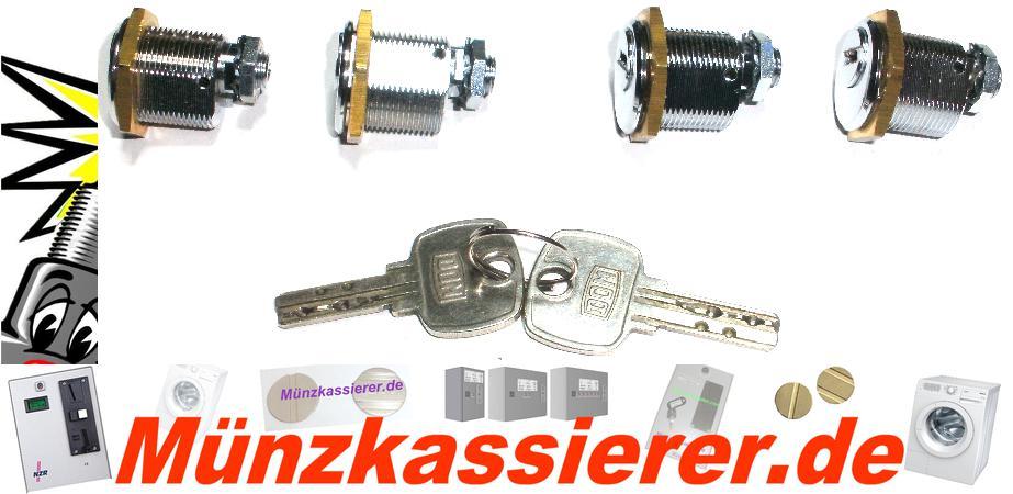 4 x Schloss GLEICHSCHLIESSEND Schlossanlage Kasse BECKMANN EMS 335-Münzkassierer.de-4