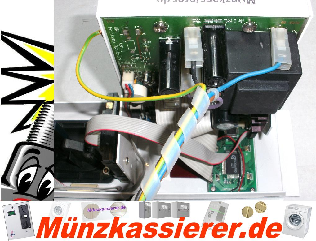 Münzkassierer Modul Waschmaschine mit Türentriegelung-Münzkassierer.de-9