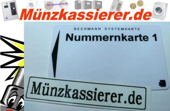 Programmierkarten Chipkarten Systemkarten BECKMANN EMS-Münzkassierer.de-0