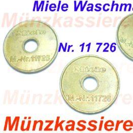 10 x Orig. MIELE 11726 WERTMARKEN Münzkassierer-Münzkassierer.de-5