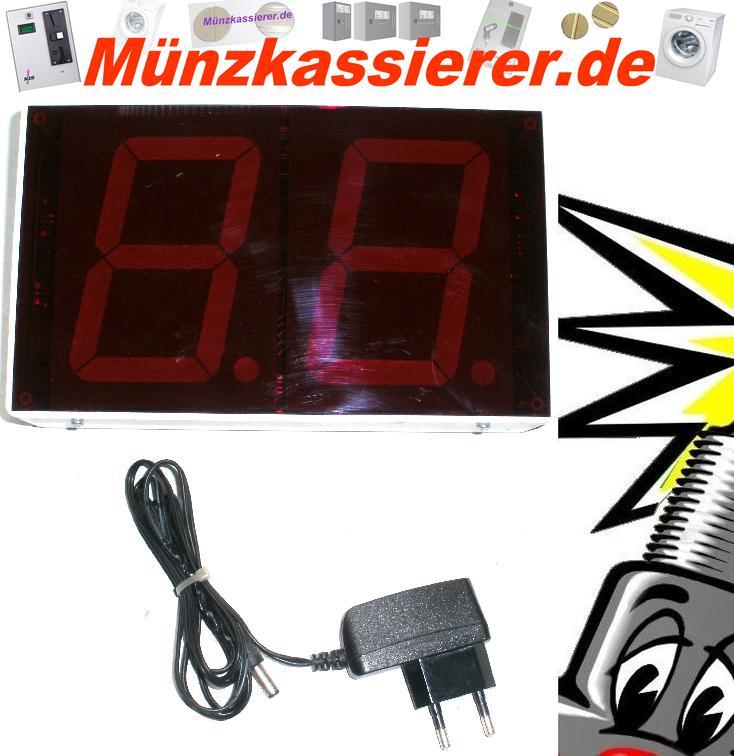 Funkanzeige für IHGE MP4100 mit Funkmodul-Münzkassierer.de-2