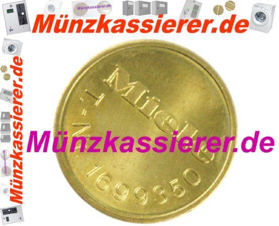 Münzkassierer 5 x orig. MIELE WERTMARKEN T 1699350-Münzkassierer.de-5