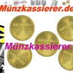 Münzkassierer 5 x orig. MIELE WERTMARKEN T 1699350-Münzkassierer.de-6