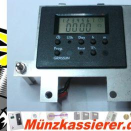 Uhr Zeitschaltmodul Grässlin 001016224 für IHGE MP3000-Münzkassierer.de-8