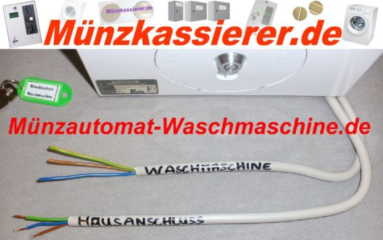 Münzautomat Waschmaschine mit Türentriegelung 230Volt - 400Volt Starkstrom (1)